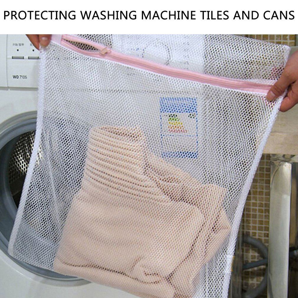 Zippered Mesh Laundry Wash Bags Delicates Lingerie Bra Socks Underwear Washing Foldable Machine Clothes Protection Net Hot