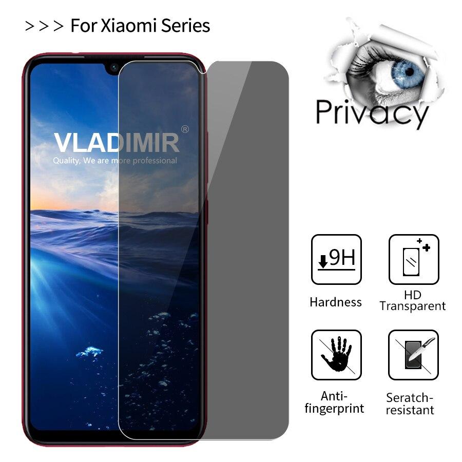 2.5D Privacy Anti Spy Tempered Glass For Xiaomi Mi A3  Screen Protector Film For Xiaomi Redmi Note 7 6 8 Pro S2 Mi 9 8 SE Lite