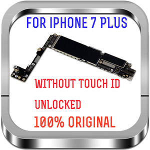 """Image 3 - Unlocked Factory For IPhone 7Plus With / Without Touch ID No iCloud Mainboard 100% Original For IPhone 7 Plus 5.5"""" Motherboard"""