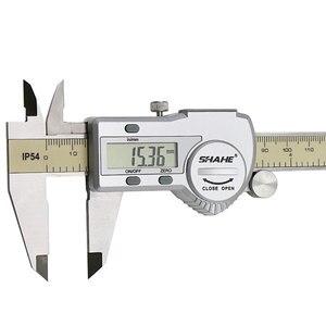 Image 5 - shahe digital vernier caliper  gauge paquimetro electronic digital caliper paquimetro digital 150 mm measuring tool
