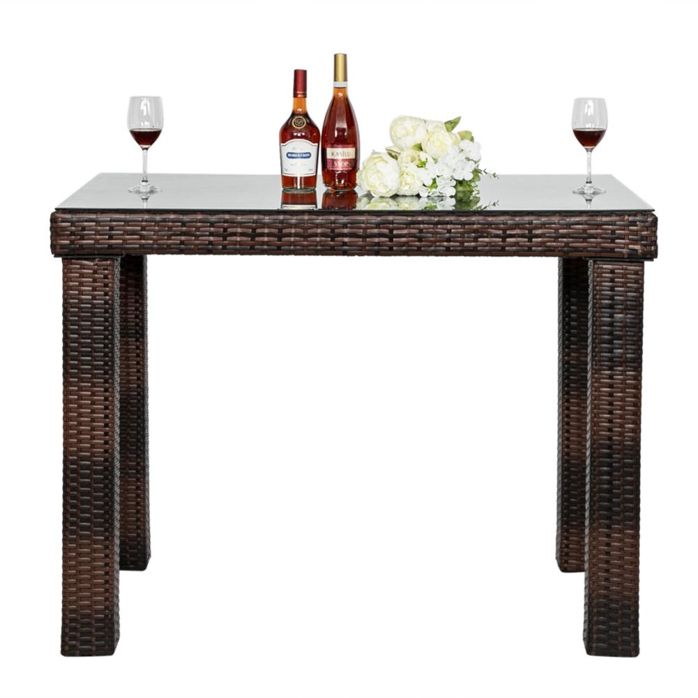 Modern Bar Table Chair Home Pub Furniture Gradient Coffee Shop Furniture Stools Chairs For Studio Apartment Dining Room