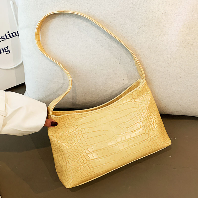 Women Bags 2020 Design Stone Pattern Leather Shoulder Bags Ladies Vintage Totes Bag Luxury Purses And Handbags Women Pack