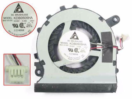 Detla Electronics KDB0505HA CE21 Server Laptop Fan DC 5V 0.40A 3 wire|fan dc|fan dc 5v|dc 5v fan - title=