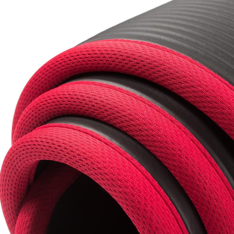 Exercise Sports Gym NBR Non-Slip Mats Fitness Sit-ups Body Shape Yoga Mat 10mm Thick Pilates Anti-Tearing Beginner Pads 13