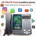 4g voltar linha fixa sem fio tela grande android 7.0 google play store versão global telefone multi-idioma telefone inteligente