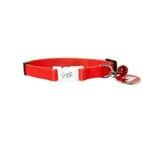Karlie Simon's Cat Katzenhalsband, Rot, 31 Cm