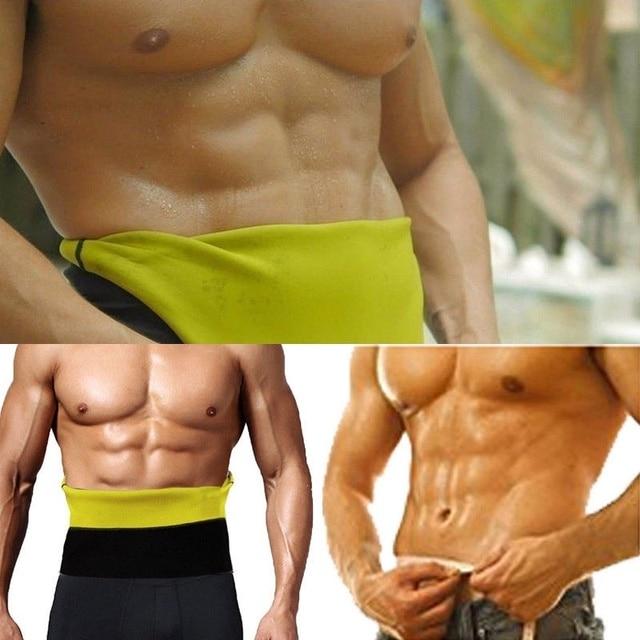 Men Waist Trimmer Belt Neoprene Waist Trainer Weight Loss Body Shaper Sauna Sweat Faja Fitness Slimming Belts Tummy Control Band 1