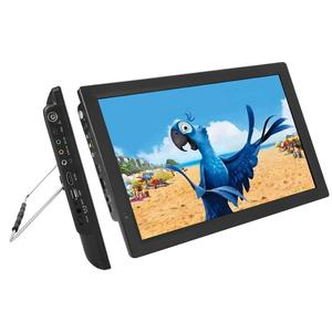 14 Inch 1080P HD Portable Television DVB-T/T2 ATSC Mini LED Car Digital TV ATV 16:9 Screen Ratio with VGA HDMI USB Port EU Plug(China)