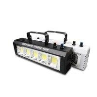 100W Strobe Flash Light เสียงเปิดใช้งานดิสโก้ไฟสำหรับเทศกาลงานปาร์ตี้ไฟ Strobe ความเร็วปรับสำหรับ Disco