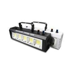 100W Strobe פלאש אור מרחוק קול הופעל דיסקו אורות עבור פסטיבל מסיבות אורות Strobe מהירות מתכוונן עבור שלב דיסקו