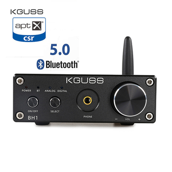 KGUSS BH1 DAC QCC3008 Bluetooth 5.0 CS8406 Audio Decoder PCM5102A APTX Headphone Amplifier AMP