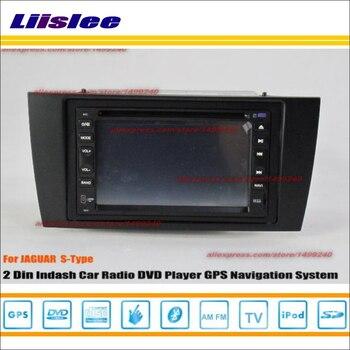 Liislee For Jaguar S-Type S Type X Type X-Type 2001~2009 Radio CD DVD Player GPS Navi Navigation System / Double Din Car Audio