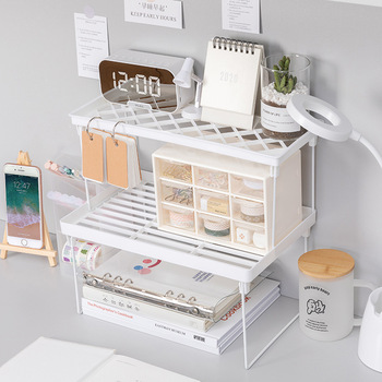 Home Closet Organizer Storage Shelf for Kitchen Rack Space Saving Wardrobe Decorative Shelves Cabinet Holders
