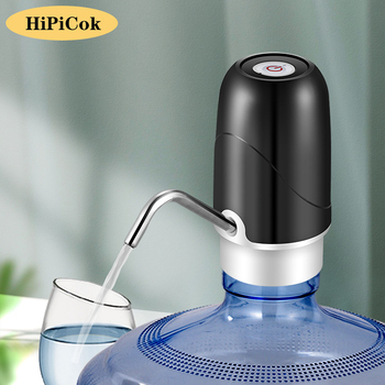 HiPiCok Water Bottle Pump 19 Liters Dispenser USB Rechargeable Electric Portable Automatic Drinking - discount item  25% OFF Household Appliances