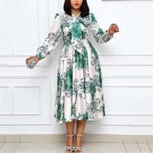 Женское Деловое платье с длинным рукавом белое ТРАПЕЦИЕВИДНОЕ