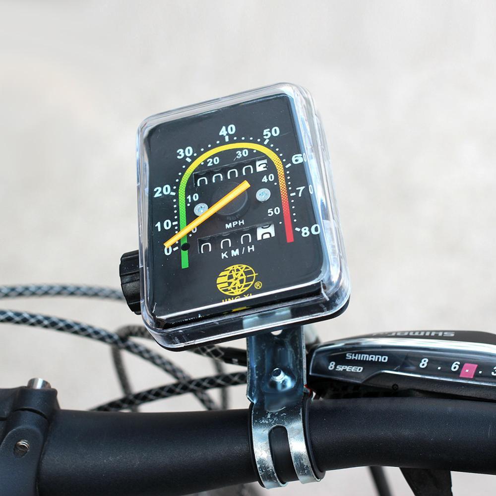Waterproof Bicycle Speedometer Bike Mechanical Bike Code Table Cycling Odometer Stopwatch
