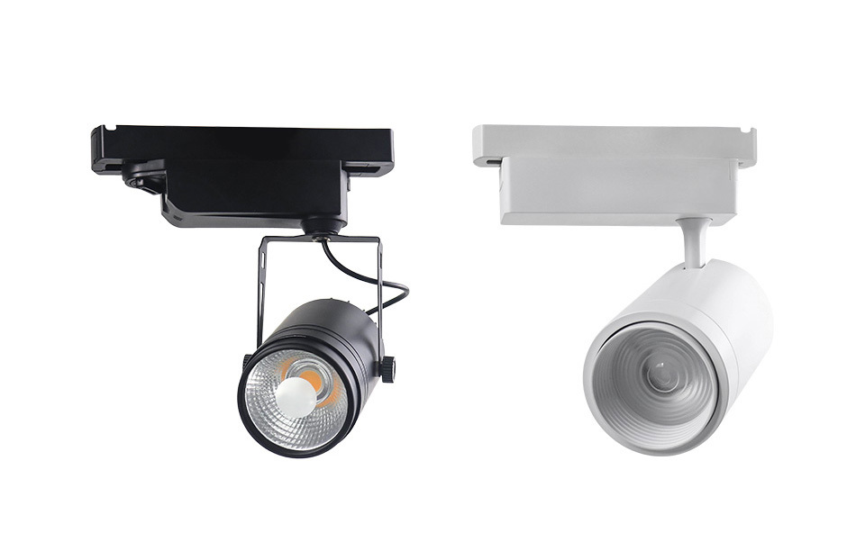 New Track Lights Box Rail Lighting Connector Accessories Track lamp Ceiling Box  2 Wire 3 Wire Fixtures LED Spot light Fitting (10)
