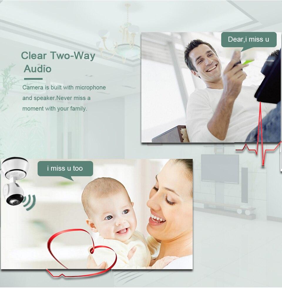 H8ebaaf1f14fb4132b720e3cea8913253C BESDER Home Security IP Camera Wireless Smart WiFi Camera WI-FI Audio Record Surveillance Baby Monitor HD Mini CCTV Camera iCSee