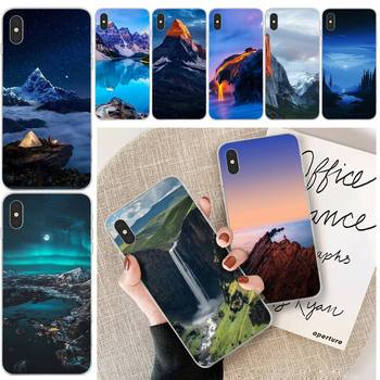 Canyon View transparent phone case for iphone 11 12 Pro Max X XS 7 8 PLUS XR SE 2020 Cover image