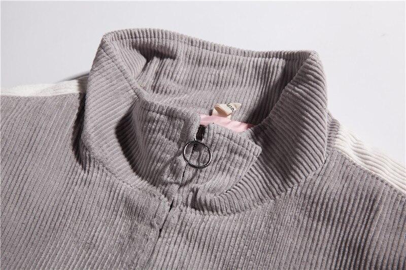 Осенняя новая мужская куртка, модная, потертая, одноцветная, повседневная, рабочая, куртка, пальто, Мужская Уличная, дикая, свободная, куртка ... - 6