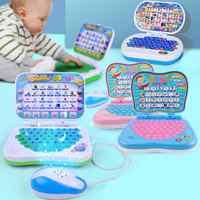 Mini ordenador portátil para niños, juguete para juego educacional