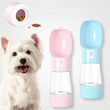 Pet Dog Water Bottle Portable Food Outdoor Travel Dispenser Feeder for Puppy Cat Drinking Products