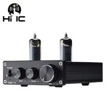 Bile Preamp Tube Amplifier Preamp Bile Buffer 6K4 6J2 6J5 Valve MINI HIFI Preamplifier Treble Bass Adjustment DC12V Upgrade 6J1