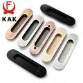 KAK 2 шт скрытые дверные ручки цинковый сплав утопленные раздвижные дверные ручки ручка дверного шкафа оборудование для обработки мебели