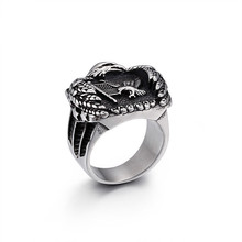 Fashion Jewelry Rings, The ring of the mighty eagle, Punk ring for men gorilla ring animal ring rise of the planet of the apes punk biker caesar ring for man fashion vintage personality jewelry j2811