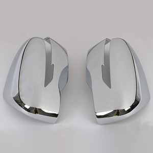 Image 2 - JEAZEA 1 Pair Rear view Mirror Cover Trim Chrome styling Fit For Nissan Qashqai 2019 Auto Accessory