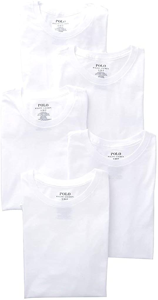 BM26199 <font><b>Lauren</b></font> Classic Fit w/Wicking Crews 5-Pack image