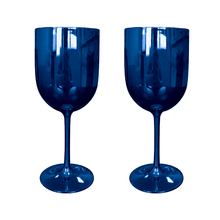 Goblet Plastic Wineglass Wine-Cup Champagne Flutes 2 for 2pcs Party
