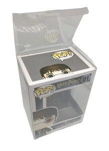 Image 2 - Ruitroliker Box Protector Case Transparent Sleeve Plastic Protection for Funko Pop 4 Inch Vinyl Figures