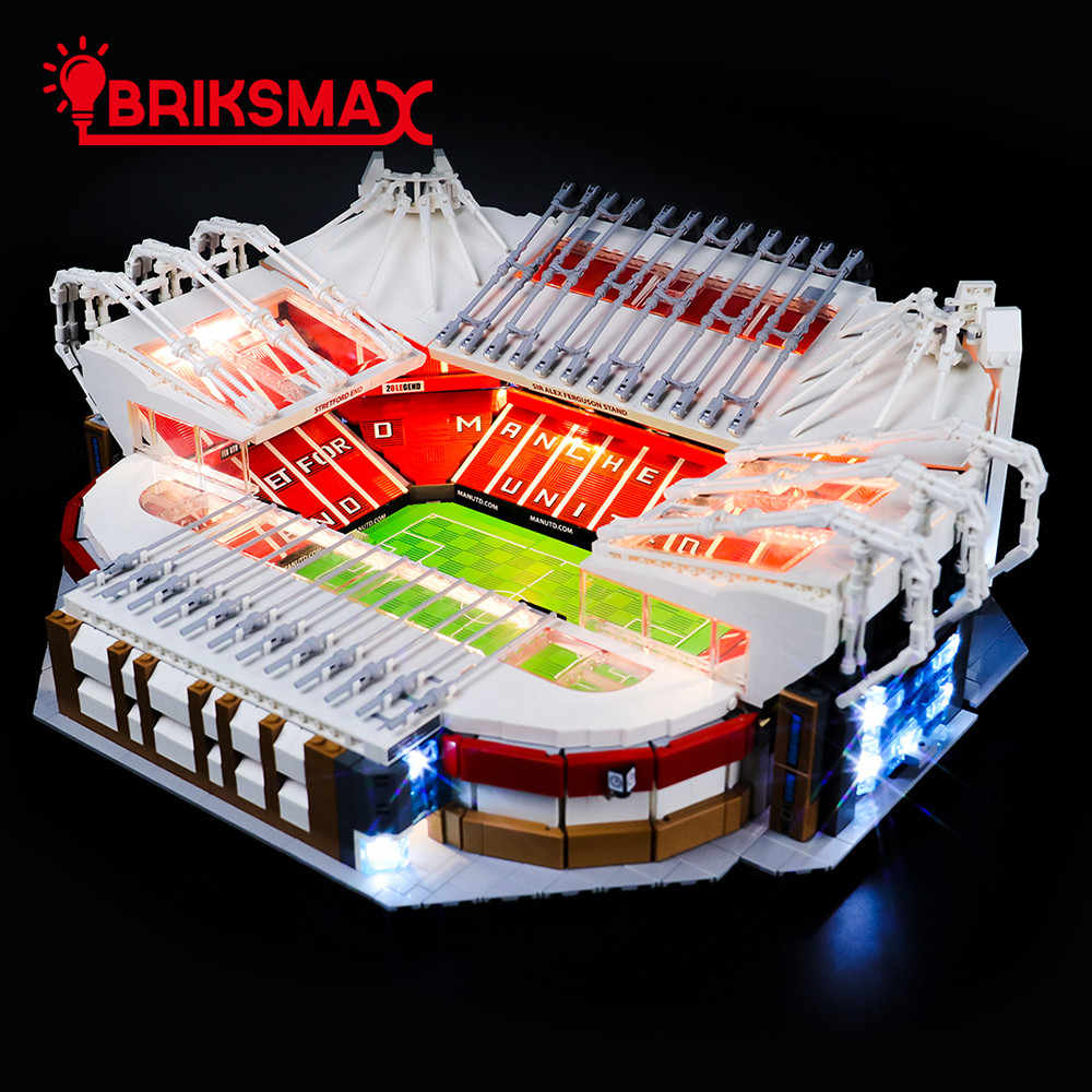 Bausteine Manchester United Football Old Trafford Stadium Modell Spielzeug DIY