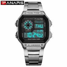 PANARS 2019 New Arrival Luminous Sport Watch Multifunction Men's Waterp