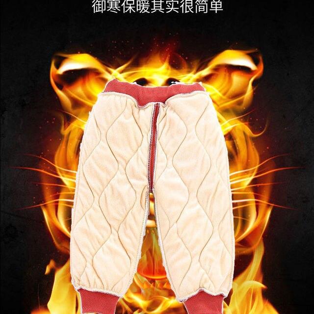 Vidmid Winter Warm Kids Thick Fleece Trousers Pants Clothing Boy Pants Girl Leggings Children Trousers Windproof Snow Pants P393 4