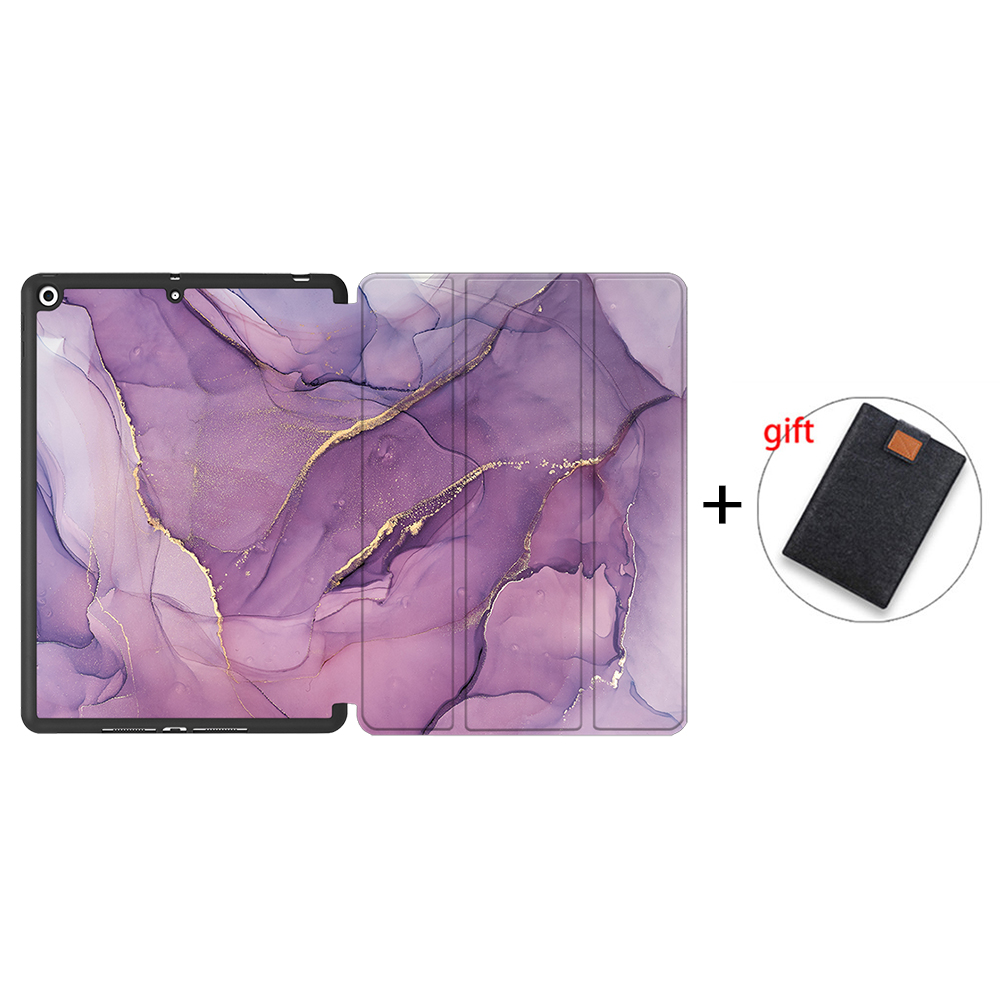 IPTPU19 MULTI MTT Case For iPad 10 2 inch 7th 8th Generation 2020 Soft TPU PU Leather Flip