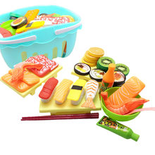 1Pcs Cuisine Kitchen Toys Cutting Fruits Vegetables Pretend Play Kids Miniature Safety Food Sets Educational Classic Toy Child(China)
