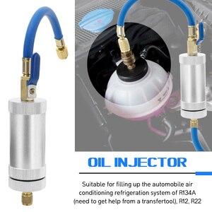 Image 5 - KKMOON colorant injecteur climatisation voiture huile injecteur R12 R134A R22 colorant Injection réfrigérant huile remplissage voiture accessoires
