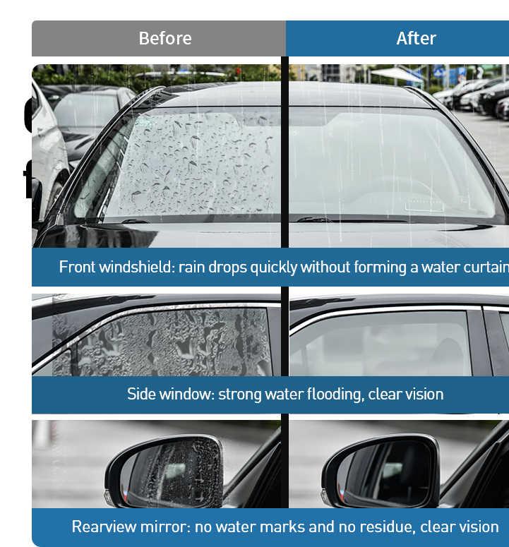 BASEUS Mobil Yg Tahan Hujan Semprotan Kaca Spion Anti-Kabut Agen Kaca Pembersih Mobil Anit-Kabut Semprot Pembersih Kaca Depan Kaca aksesoris