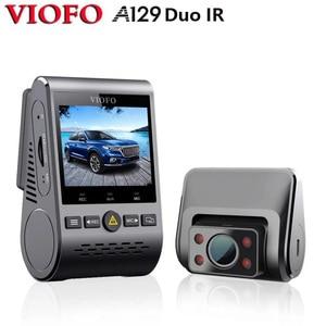Image 1 - 2020 חדש A129 Duo IR מול & פנים כפולה דאש מצלמת רכב מצלמה 5GHz Wi Fi מלא HD 1080P שנאגרו חניה מצב עבור סופר Lyft מונית