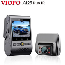 2020新A129デュオirフロント & インテリアデュアルダッシュカム車のカメラ5 1.2ghzのwi fiフルhd 1080pバッファ駐車モードユーバーlyftタクシー