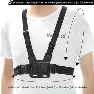Image 4 - Go Pro Accessoires Voor Gopro Hero7 6 5 4 3 + Actie Sport Camera Borst Head Hand Wrist Strap Voor xiaomi Yi 4 K Eken Auto Supction