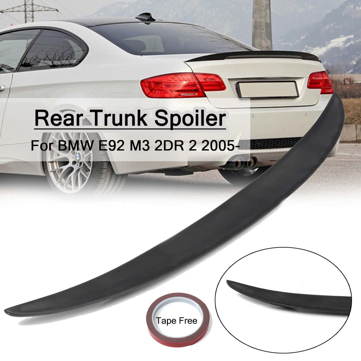 Special Price For Bmw M3 E92 Wing Ideas And Get Free Shipping A617