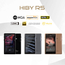 HiBy R5 8.1 HIFI Lossless Musik MP3 Pemain Musik Amazon Ultra HD/WiFi/Air Bermain/LDAC/DSD/AptX/Dual CS43198/Resolusi Tinggi/MQA(China)