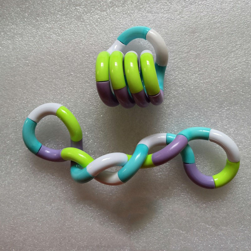 Trick-Rope Fidget-Toy Twisted-Ring Stress Relief Tangle Creative Kid DIY Magic Xmas-Toy img2