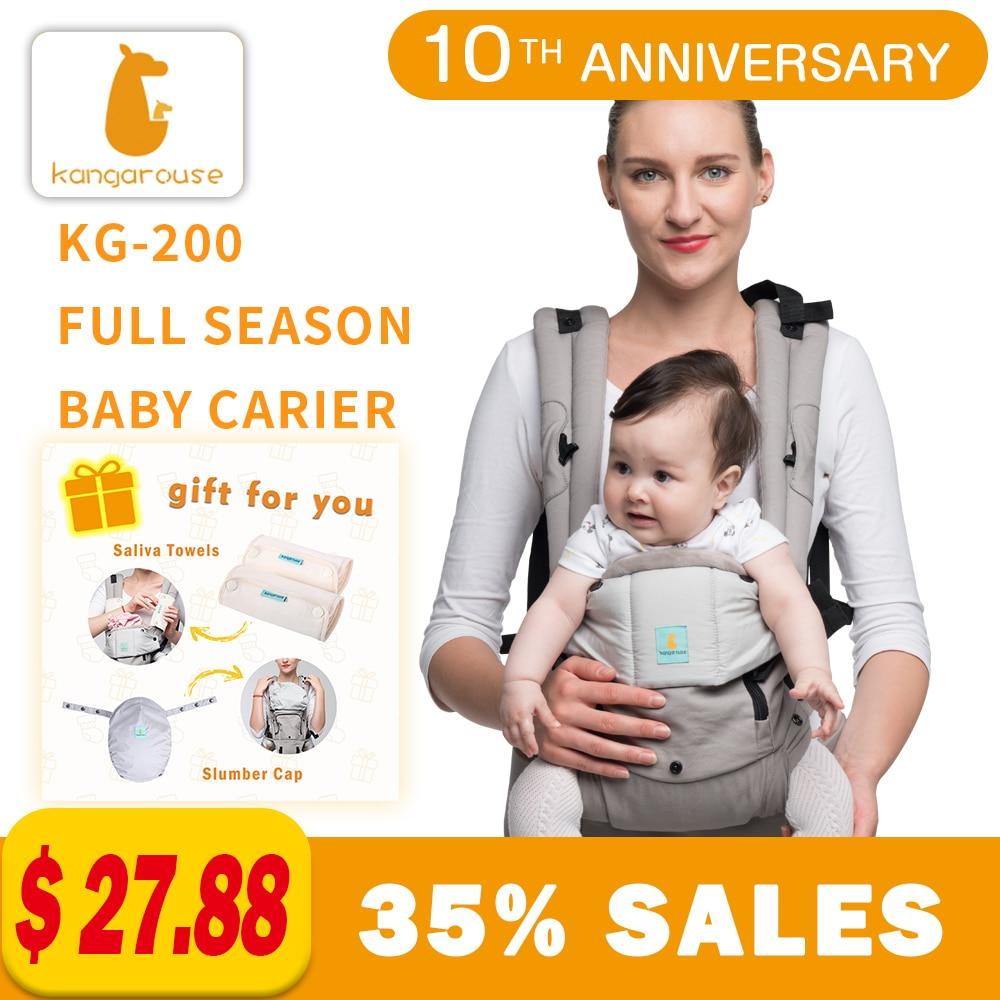 Kangarouse Full Season Cotton Ergonomic Baby Carrier For New-born To 36 Month KG-200