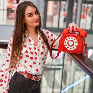 Image 2 - חדש עיצוב כיף בציר מתוקה טלפון סגנון נשים ארנקי תיקי כתף תיק 2020 אופנה Crosbody תיק לילדה
