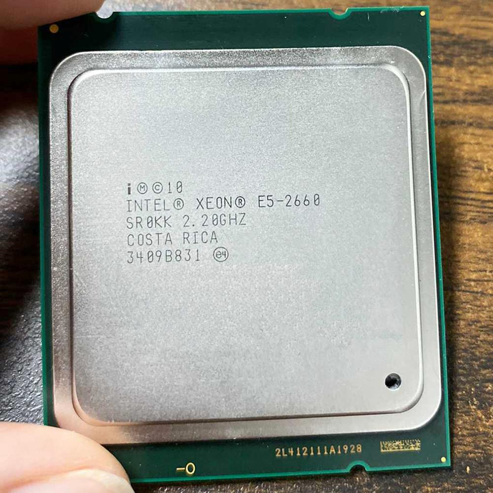 <font><b>Intel</b></font> <font><b>Xeon</b></font> CPU E5-<font><b>2660</b></font> E5 <font><b>2660</b></font> E52660 CPU 2.2GHz LGA 2011 20MB L3 Cache 8 CORE 95W Processor Suitable for X79 Motherboard image