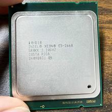 Intel Xeon CPU E5-2660 E5 2660 E52660 CPU 2.2GHz LGA 2011 20MB L3 Cache 8 CORE 95W Processor Suitable for X79 Motherboard